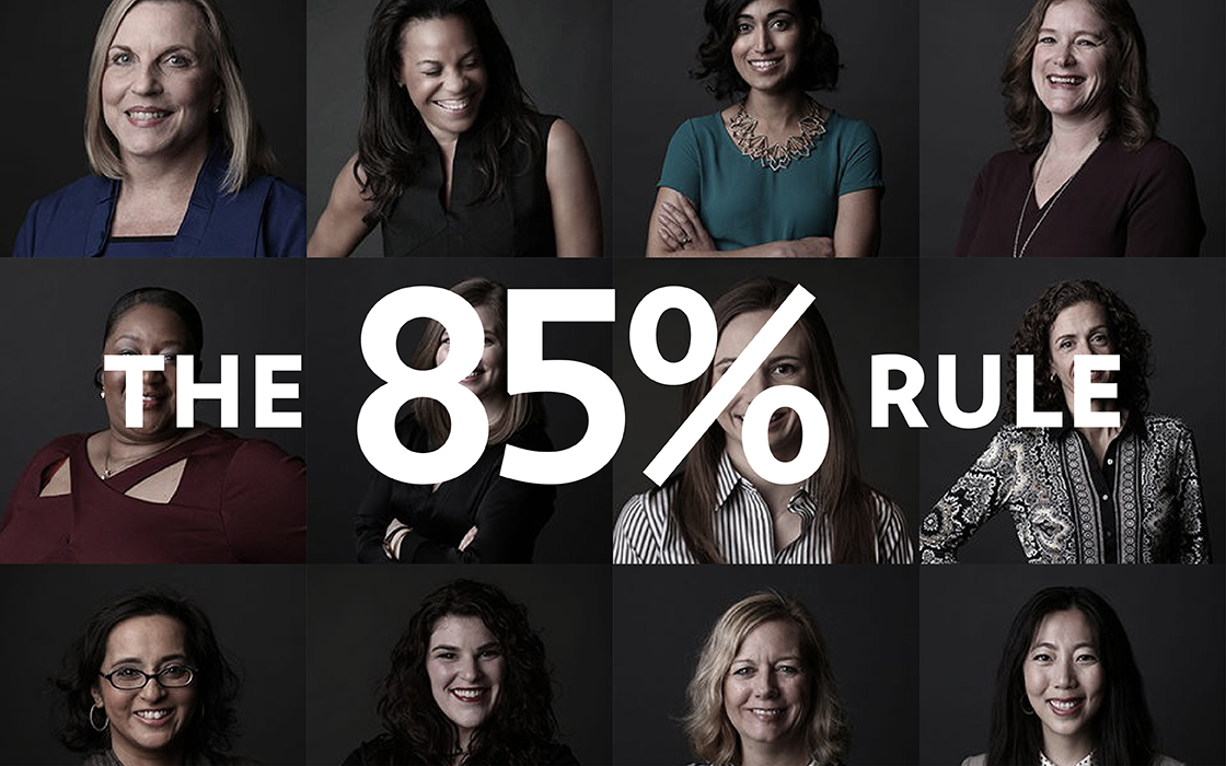The 85% rule