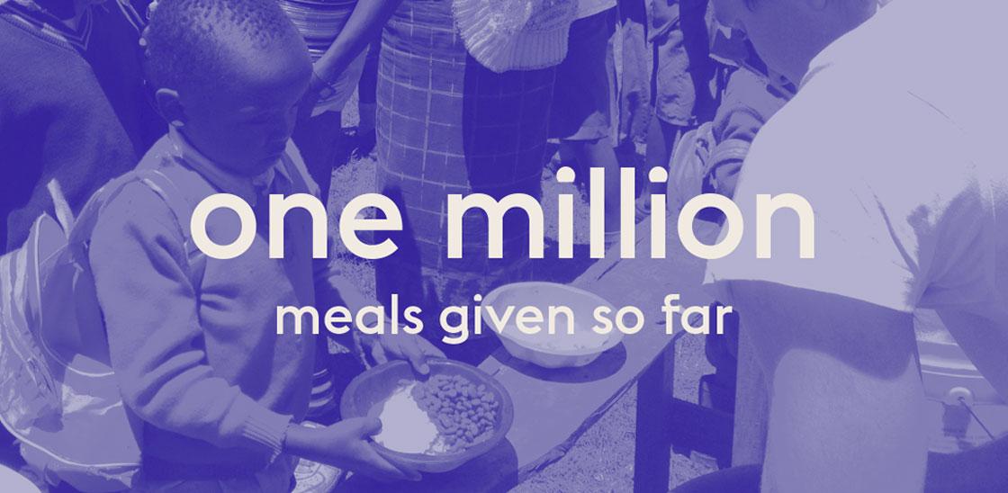 Feeding one million