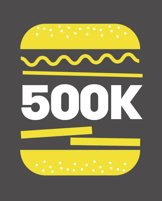 Feeding the 500,000