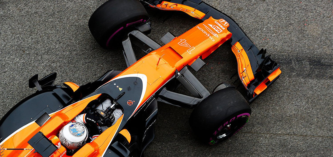The Clearing design new livery for McLaren F1 car