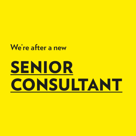 We're looking for a Senior Consultant