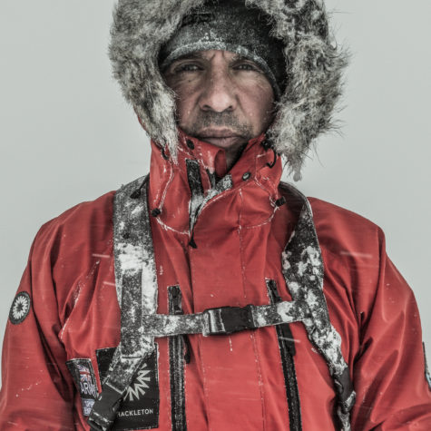 A modern pioneer: the first British explorer to cross Antarctica