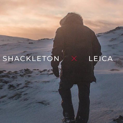 Shackleton and Leica develop the world's first extreme weather photographer's jacket